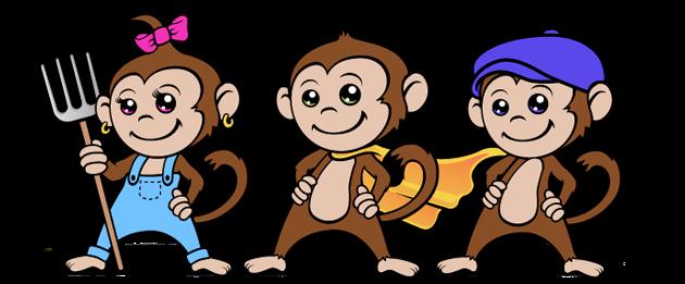 Mulch Monkey and Friends